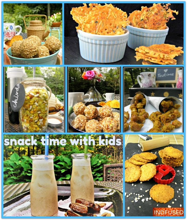Indian and Indian fusion snacks in America , that are easy to make, wholesome and scrumptious