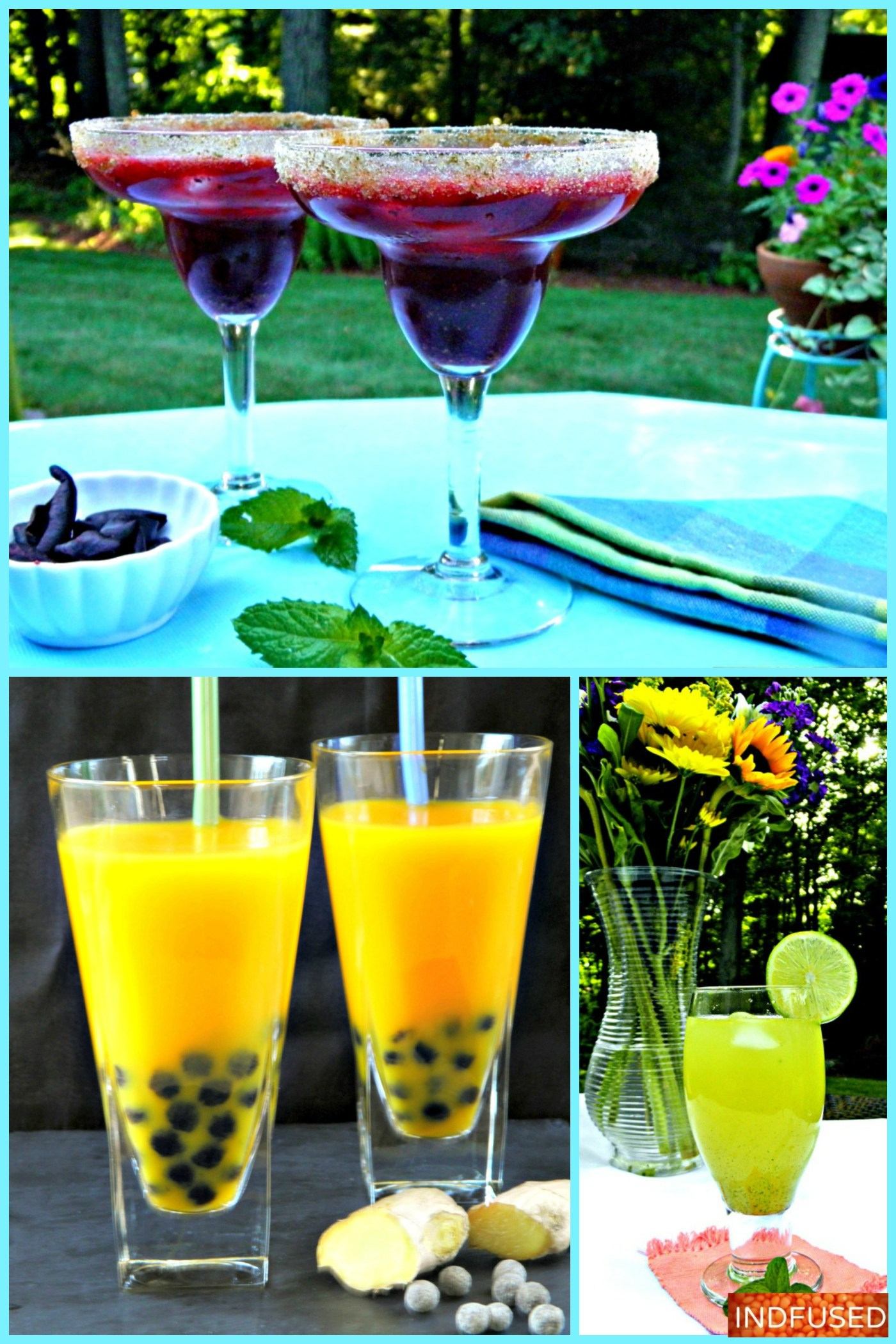 Top 3 mocktails- recipes you will need for memorable summer parties. Mocktails with health benefits!
