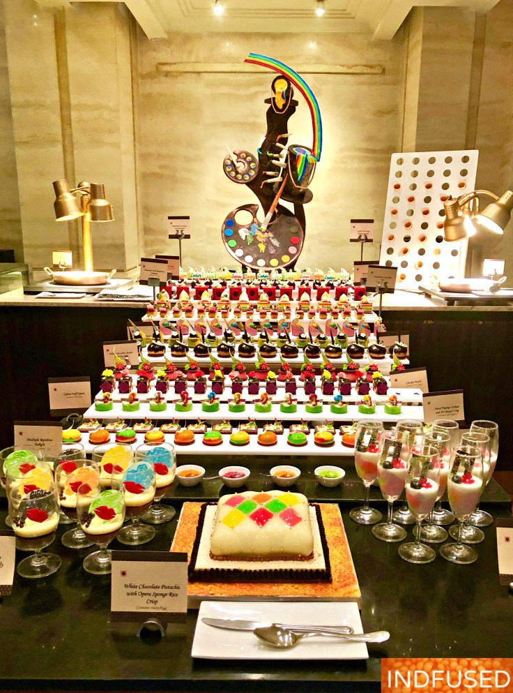 Innovative desserts by gifted chefs at the Painter's Brunch @ Madras Pavilion