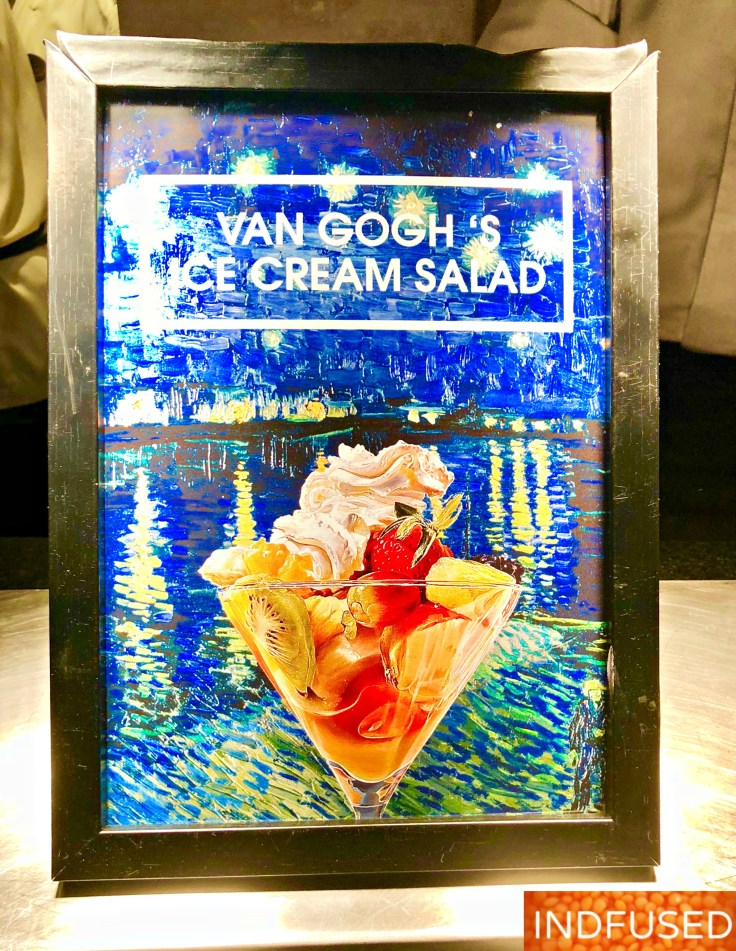 Van Gogh's Icecream Salad @Madras Pavilion