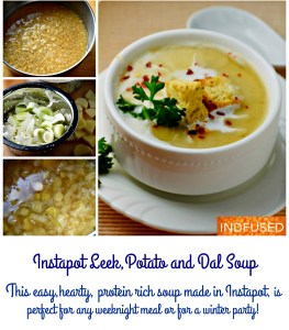 Elegant, delicately flavored soup, that is hearty and filling. Easy Instant pot recipe