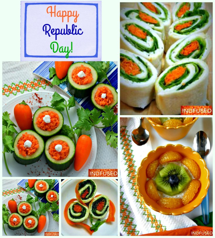 Easy, fun and healthy recipes to make and enjoy with kids on Republic Day