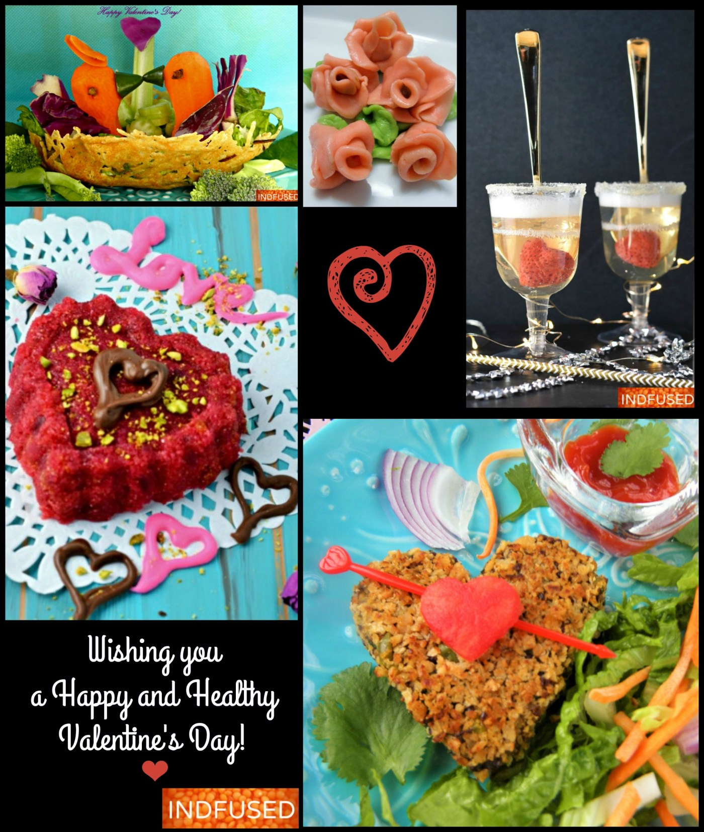 Valentine's day recipes- easy ,healthy and fun!