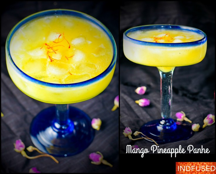 Mango Pineapple Panhe- Refreshing, all natural beverage with multiple health benefits and no added sugar!!