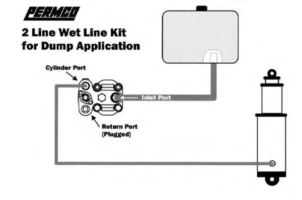 C102 Dump Pump - CCW Rotation - Manual Shift