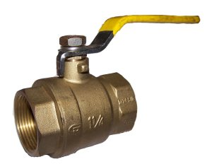 "2-Port Low Pressure Ball Valve - 1¼"" NPT"