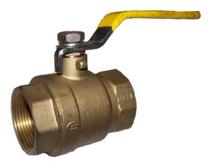 "2-Port Low Pressure Ball Valve - 1½"" NPT"