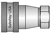 S105-2 Hydraulic Quick Disconnect, Female