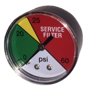"2"" Return Hydraulic Service Filter Gauge"