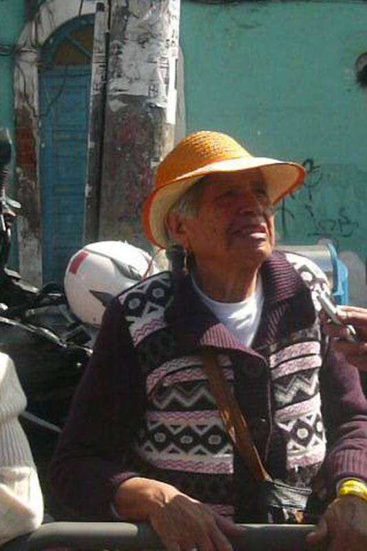 Adela María Chata Fotografi: Dennis Castro
