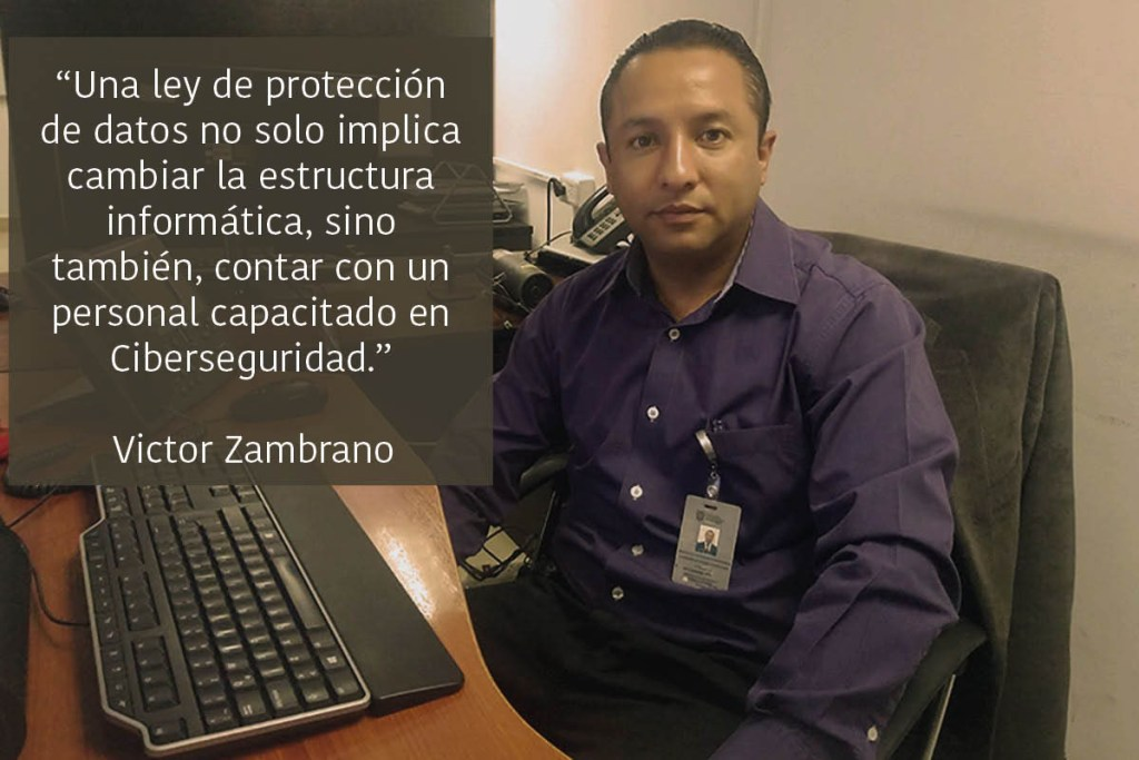 Nuevas políticas y capacitación es lo que se necesita para garantizar la seguridad de los datos personales de los ecuatorianos.