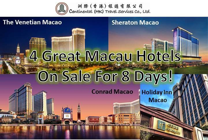 8 Days Macau Sale
