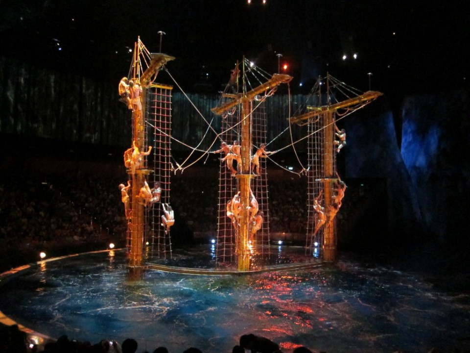 House Of Dancing Water