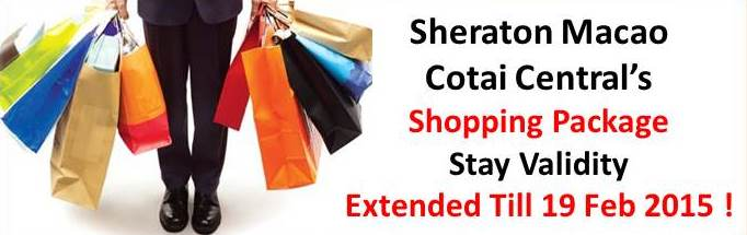 Sheraton Shopping Package Extended