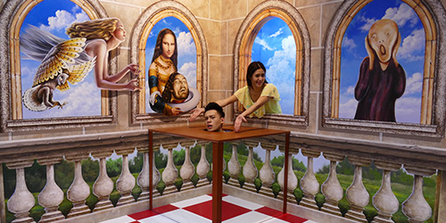 trick eye museum 1