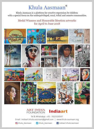 Khula Aasmaan children art contest and painting contest results