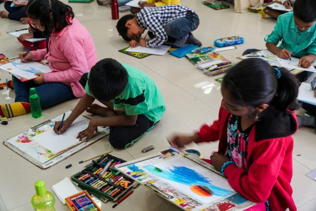 Science Day child art contest