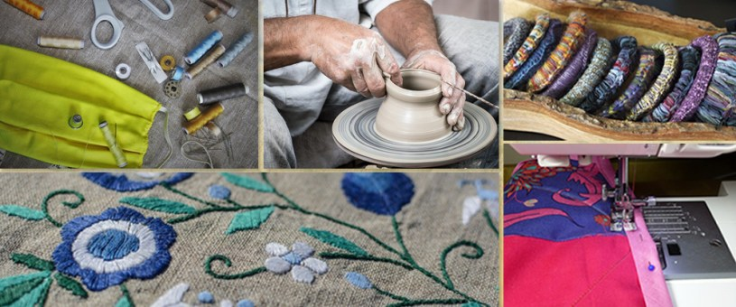 Handcrafted in India, an initiative by Indiaart.com and Art India Foundation