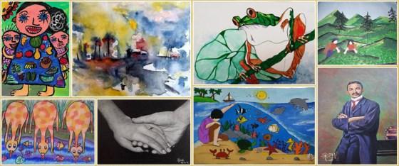 Khula Aasmaan international art competition - shortlisted artworks for October to December 2019