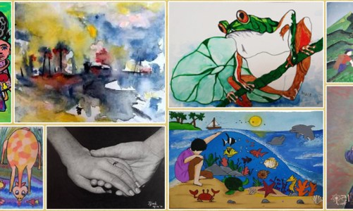Khula Aasmaan international art competition - shortlisted artworks for October to December 2019
