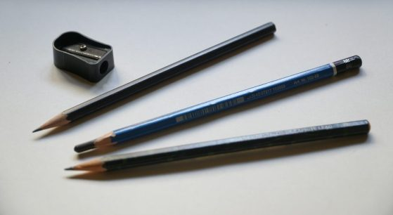 Graphite pencils for pencil drawing