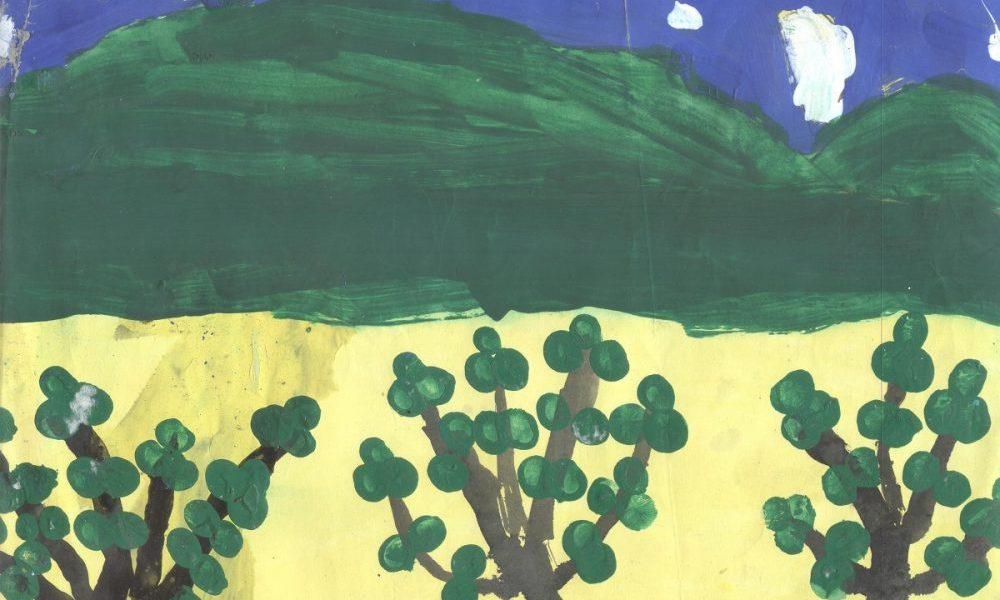 Painting by Rohit D Sahani, Born 2008, Sheth D M High School, Mumbai