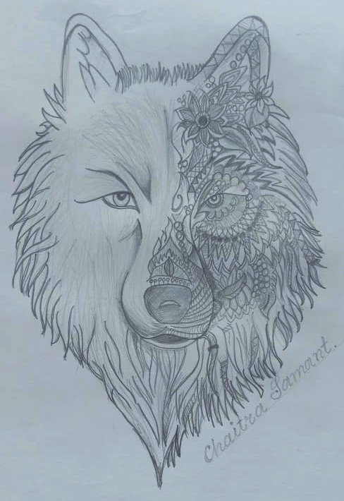 Pencil Drawing by Chaitra Samant, Mumbai