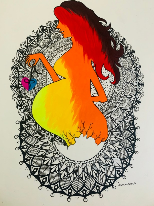 Painting by Sangeeta Kore Moulick, Navi Mumbai