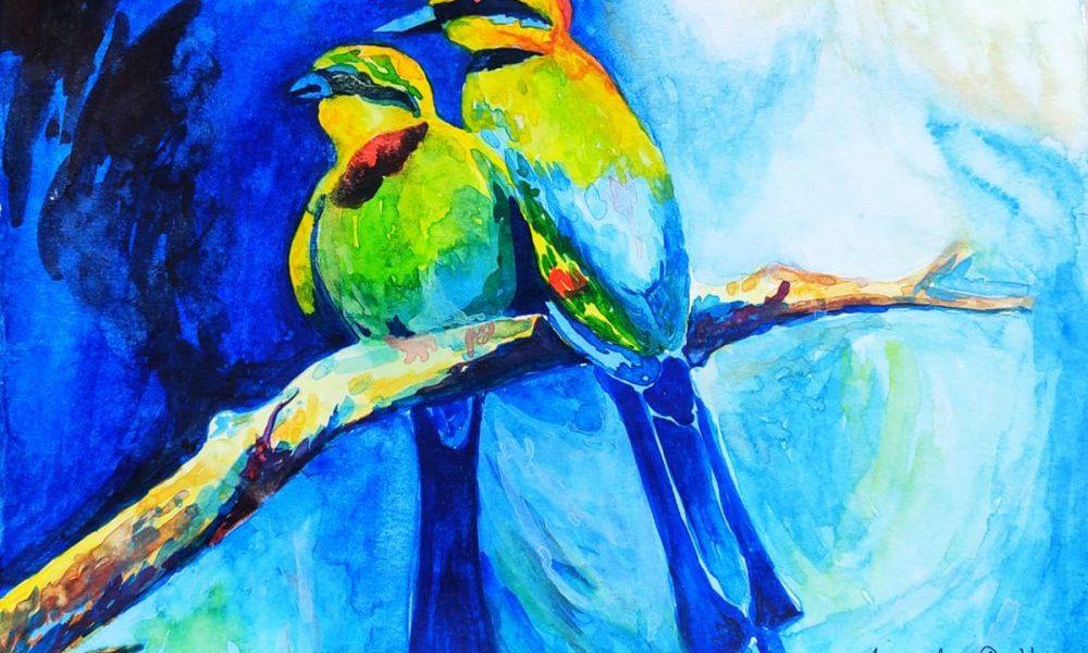 Painting by Annesha Dutta,Murshidabad,West Bengal