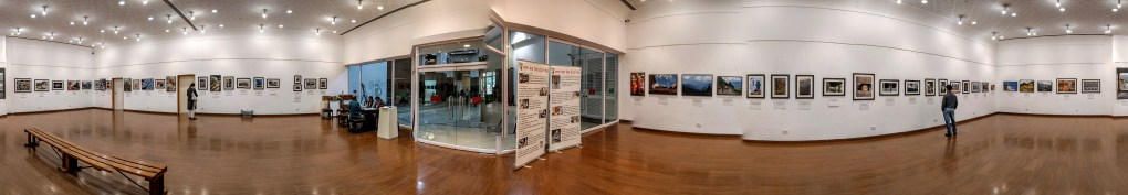 Panoramic view of the photography exhibition - My pictures with their little stories