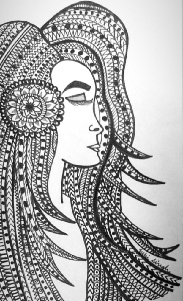 Doodle art by Juhi Singh