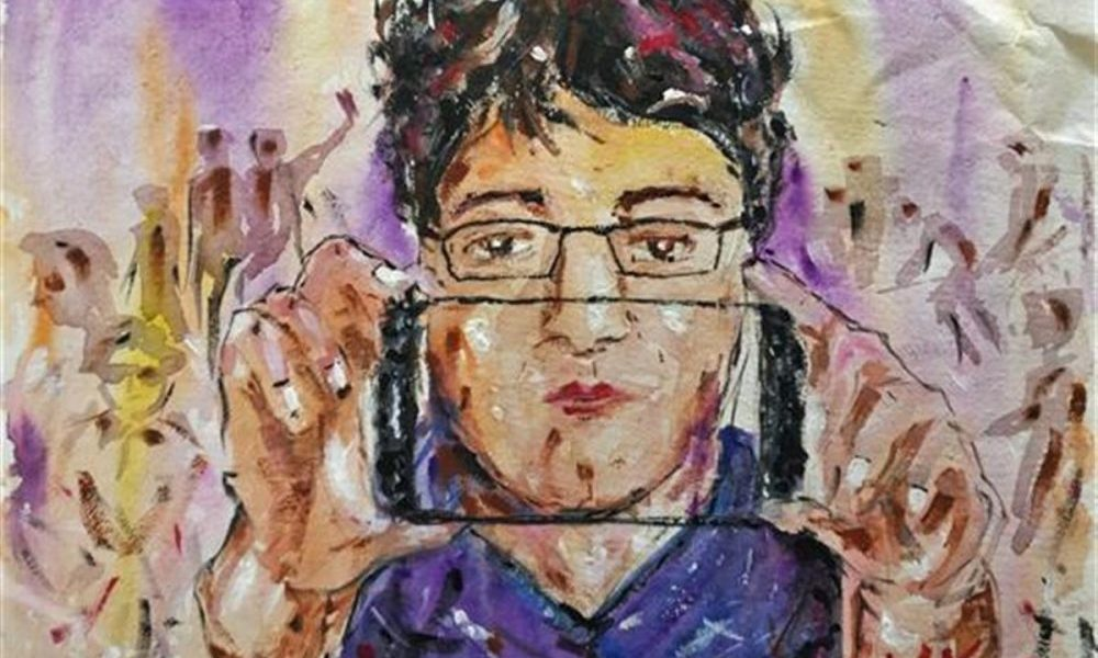 Painting by Nabojit Kar (20 years), IISER, Kolkata