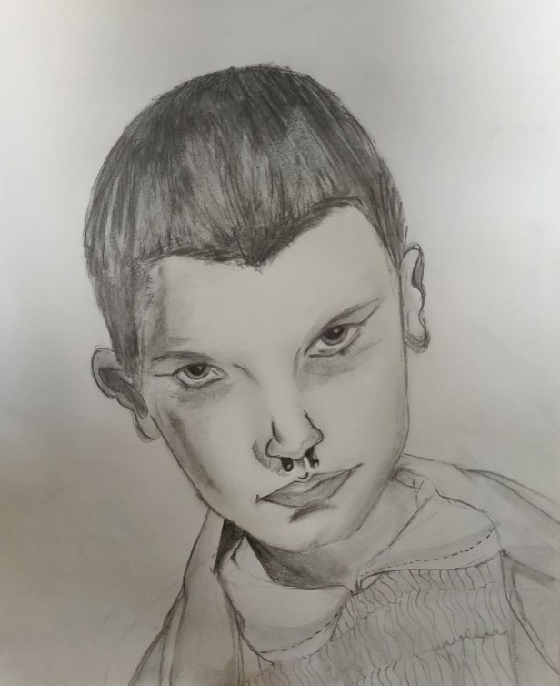 Pencil sketch by Ronak Jha (class 8)
