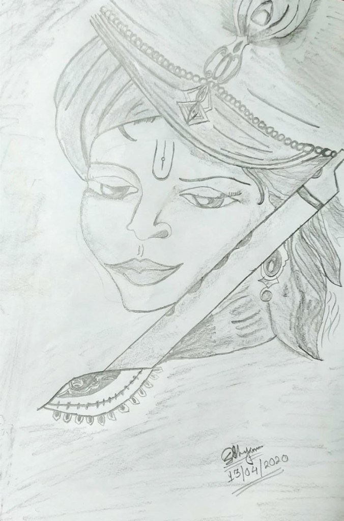 Pencil Sketch by Sohali Shyam, Durgapur, West Bengal