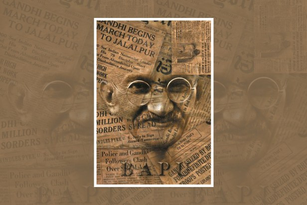 "Artwork by Aritra Dey, Kolkata, West Bengal, India - one of the select artworks from ""World of Mahatma Gandhi"" - international art competition"