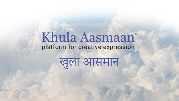 Khula Aasmaan (खुला आसमान), a platform for creative expression by children, college students and people of all ages
