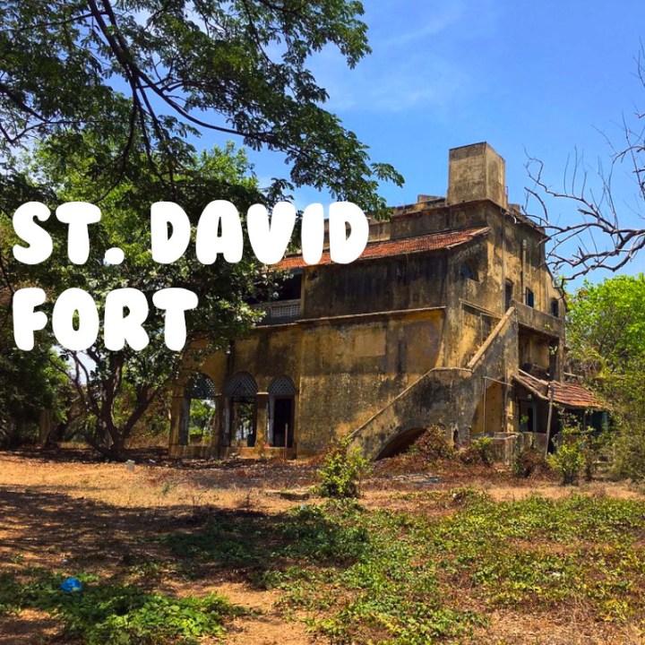 Chennai Weekend Getaway Road Trip Fort St. David