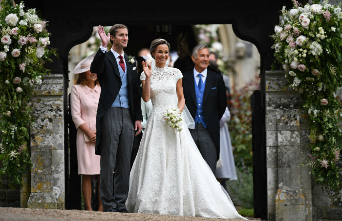 Pippa Middleton's Wedding Dress Photos: Kate's Sister Gets