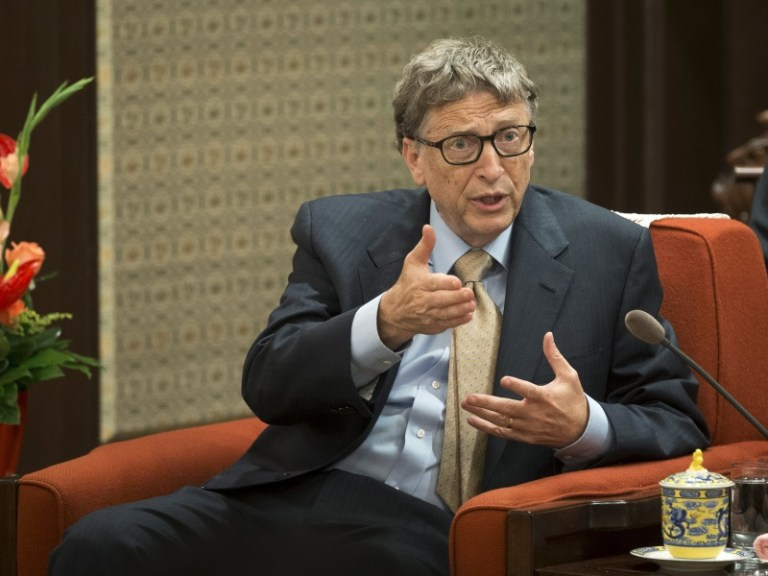 Bill Gates's Carefully Curated Populist Persona Has Popped