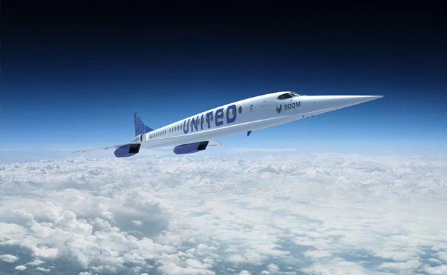 New York To London In Just 3.5 hours? It's In The Works As United Airlines Plans To Buy 15 Super-Sonic Planes