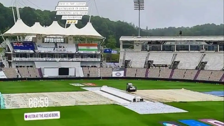 WTC Final: Dinesh Karthik gives Southampton weather update to cheer fans ahead of India vs New Zealand Test Day 3 – check out | Cricket News