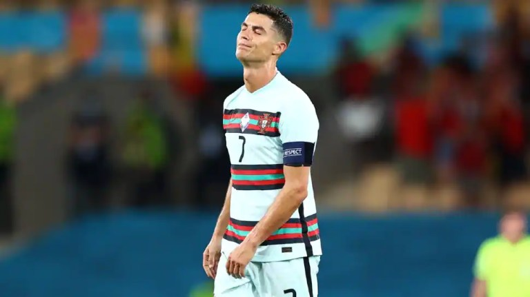 Euro 2020: Twitterverse sheds tears for Cristiano Ronaldo after last 16 exit | Football News