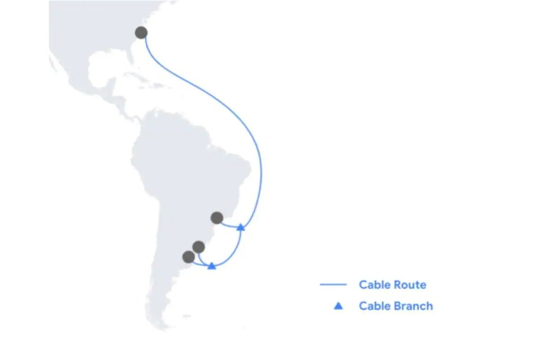 Google to Build Undersea Cable Firmina to Connect Latin America and the US