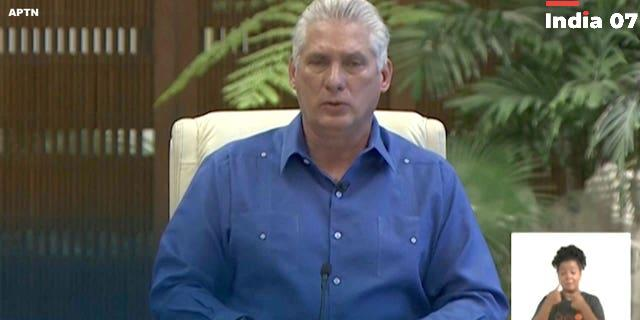 Cuba's president admits to shortcomings; takes some blame for protests