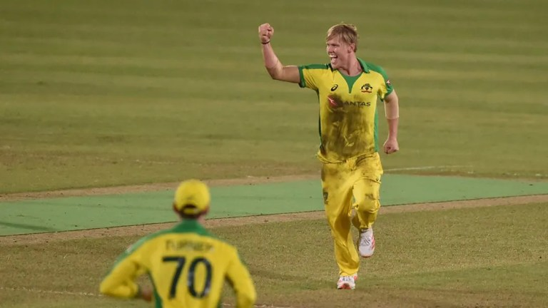 BAN vs AUS: Nathan Ellis becomes first cricketer to take hattrick on T20I debut   Cricket News