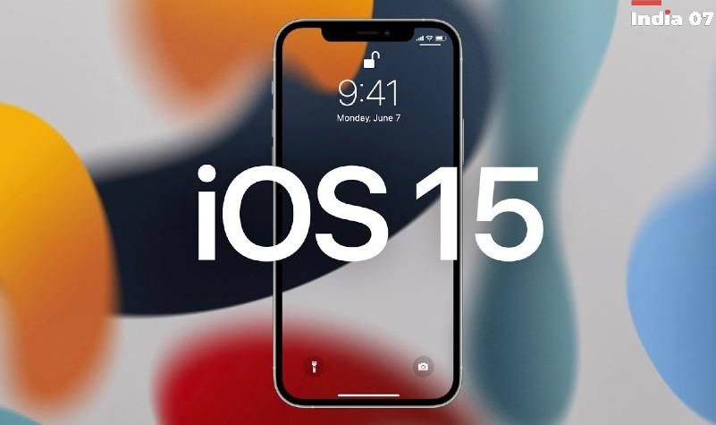 iOS 15 released date in india
