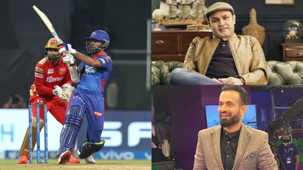 IPL 2021: Virender Sehwag, Irfan Pathan laud Shikhar Dhawan's explosive 91 after DC's emphatic win over PBKS