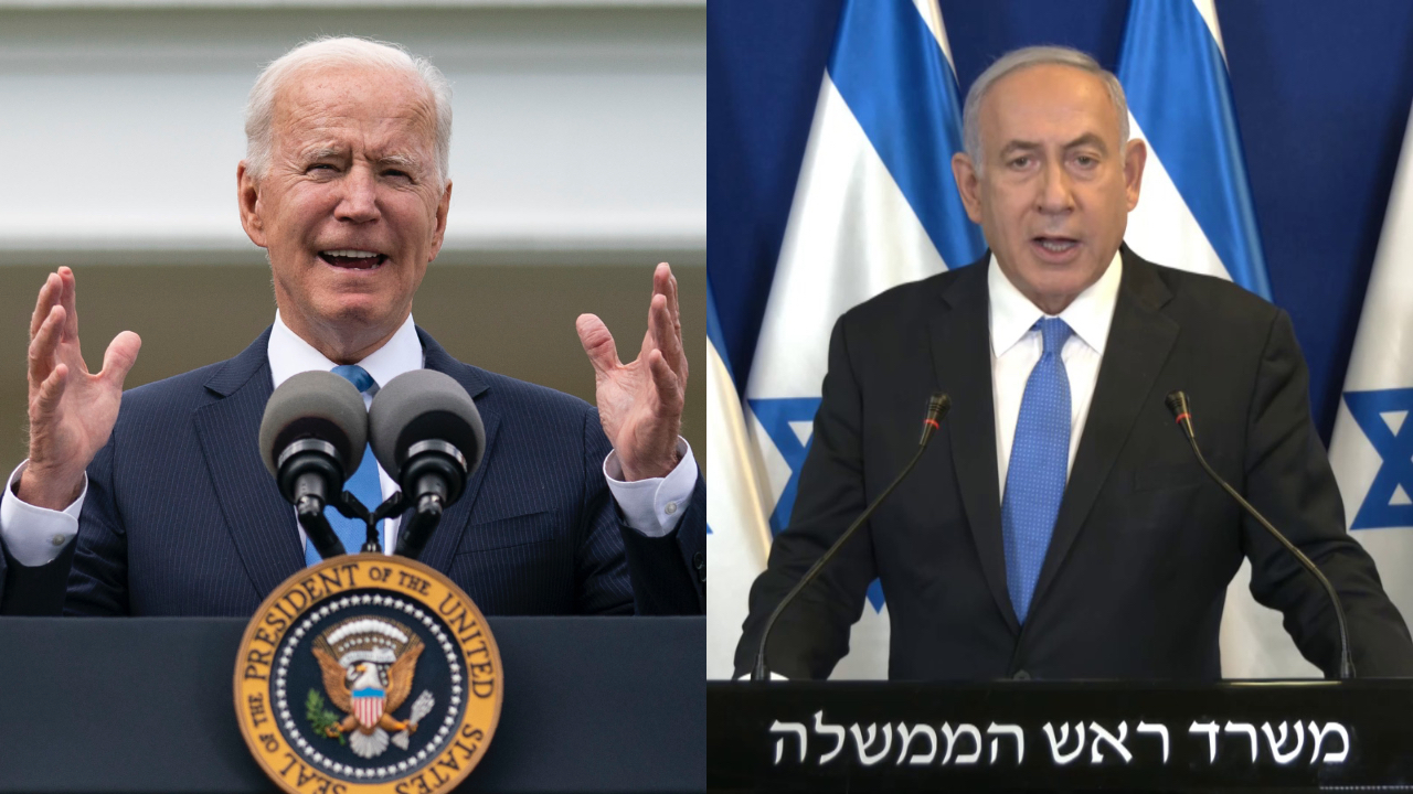 Joe Biden expresses 'support' for ceasefire in call with Israeli PM Netanyahu