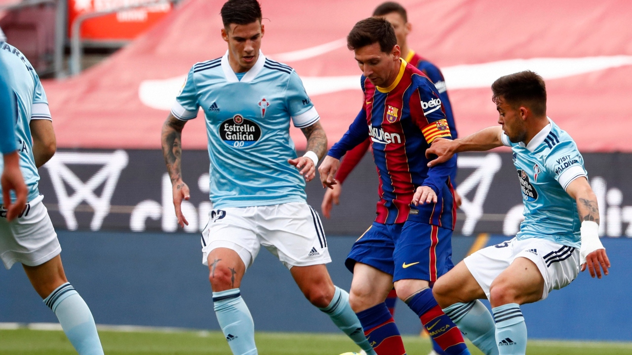 Barca lose against Celta to drop out of La Liga title race as Messi's exit all but confirmed