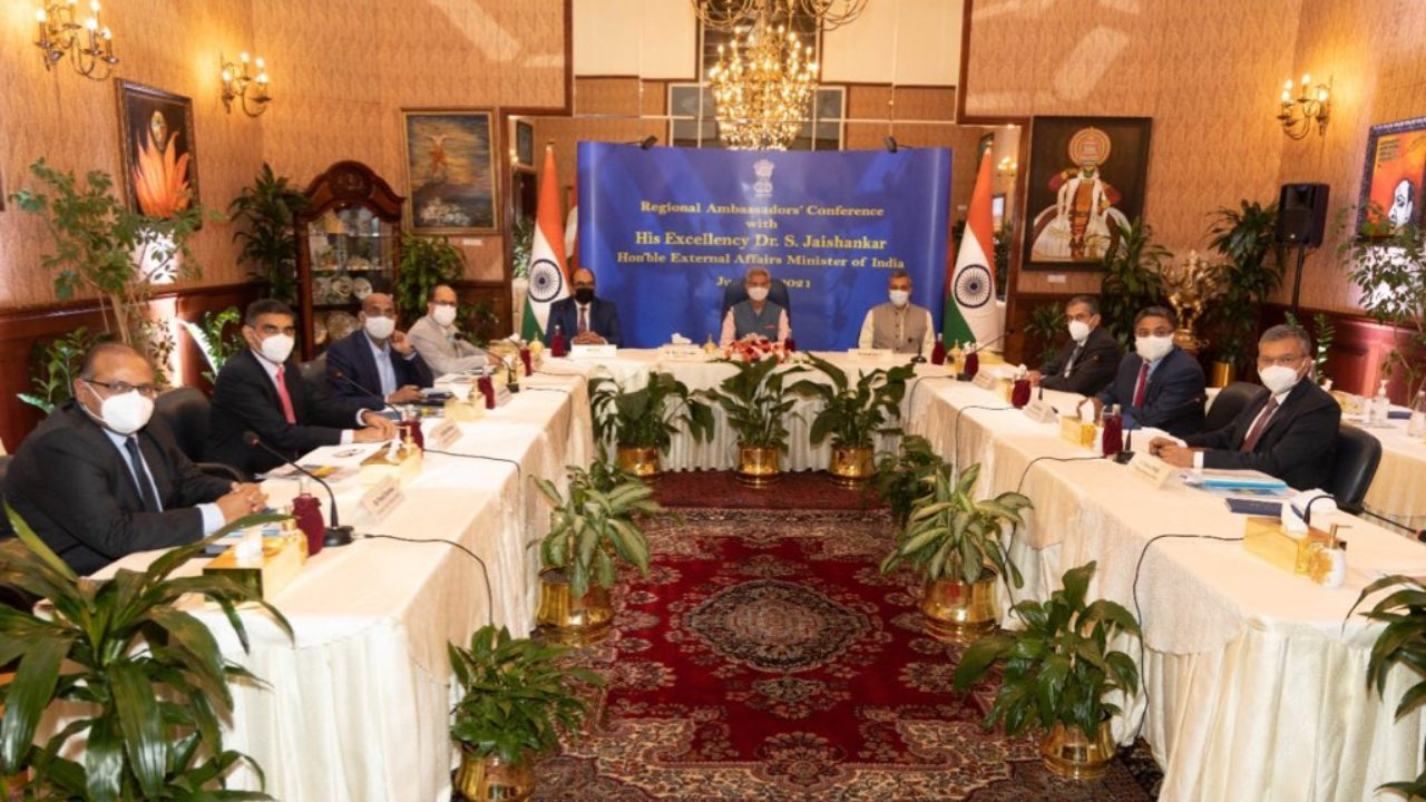 External Affairs Minister Jaishankar Holds Meeting With India's Envoys to Gulf Nations, Discusses Trade Interests
